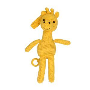Musik Giraffe, Baumwolle, gehäkelt, ab 3 Jahren