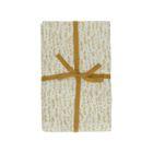 Nappe, coton bio,  blanc à motif de bulles, 140 x 180 cm