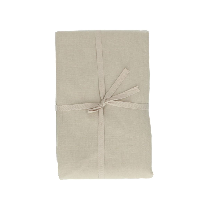 Nappe, coton bio, galet, 140 x 180 cm