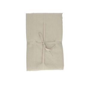 Nappe, coton bio, galet, 145 x 250 cm