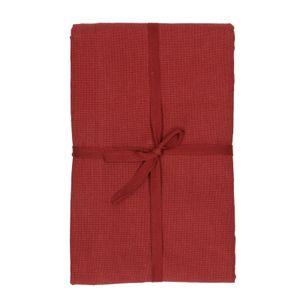 Nappe, coton bio, rouge foncé, 140 x 180 cm