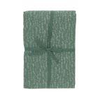 Nappe, coton bio, vert à motif de bulles, 145 x 250 cm