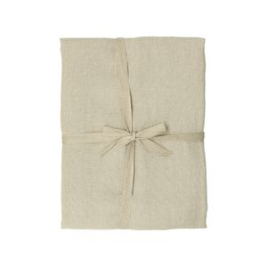 Nappe, lin naturel non blanchi, 137 x 250 cm