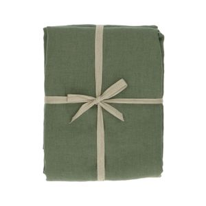 Nappe, lin, vert, 137 x 250 cm