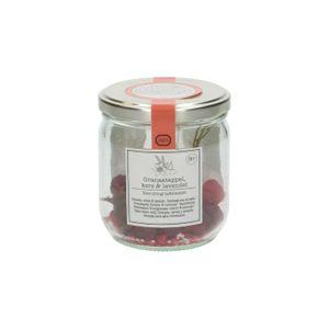 Navulling voor fruitig tafelwater, granaatappel, kers & lavendel