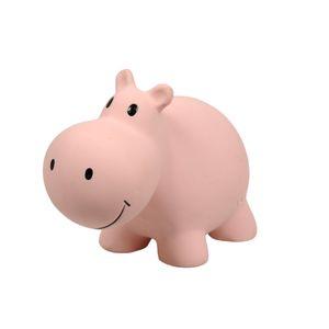 Nijlpaard, rubber, 12 cm