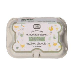Œufs en chocolat au lait, praliné, 78 g