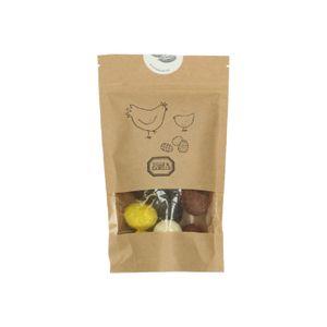 Œufs en chocolat, fourrés, sélection, 160 g