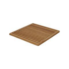Onderzetter, bamboe, 20 x 20 cm