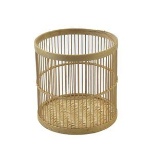 Panier, bambou, Ø 20 x 19 cm