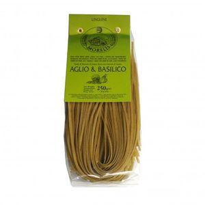 Pasta, linguine met knoflook en basilicum, 250 gram