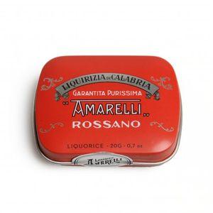 Pastilles à la réglisse, petite boîte métallique rouge, 20 g