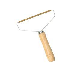 Peigne antibouloche, poignée en bois