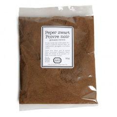 Peper, zwart, gemalen, 50 gram