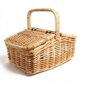 Picknickkorb, Kobo Rattan, 54 x 37 x 25 cm