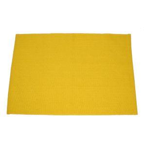 Placemat, bio-katoen, geel, 35 x 50 cm