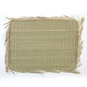 Placemat, zeegras, 45 x 33 cm