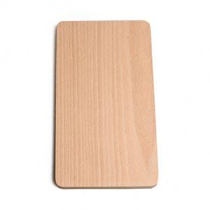 Planche à découpe, bois de hêtre, 24 x 13 cm
