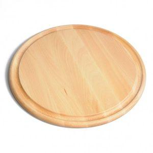 Planche à découper, bois de hêtre, Ø 38 cm