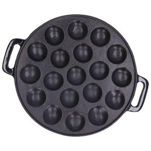 Plaque de cuisson pour crêpes merveille, fonte, Ø 24 cm
