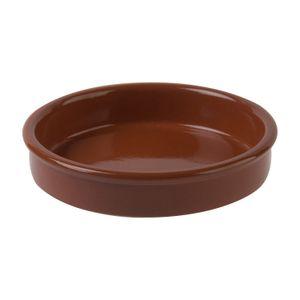 Plat à tapas, terre cuite, Ø 14 cm