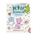 Pop-up kleurboek dieren