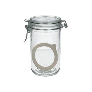 Pot à fermeture mécanique, verre, 0,75 l