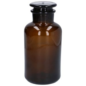Pot à pharmacie, verre, brun, Ø 10 x 21,5 cm