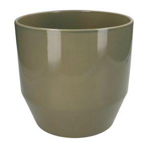 Pot de fleur, céramique, vert tendre, Ø 23 cm