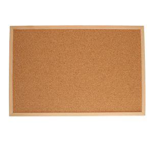 Prikbord, kurk, 40 x 60 cm