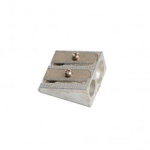 Puntenslijper, dubbel, aluminium