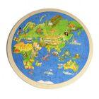 Puzzle, Die Welt (rund)