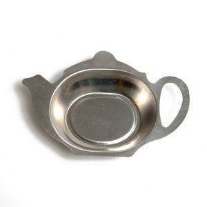 Repose pour les sachets de thé, métal inoxydable