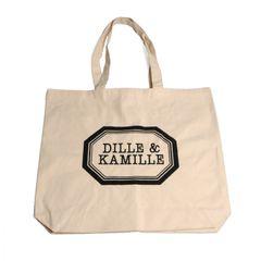 Sac en toile Dille & Kamille, coton bio, grand