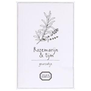Sachet parfumé, romarin & thym