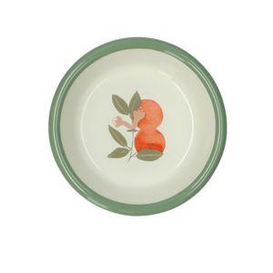 Schälchen, Emaille, Orangen, Ø 10,5 cm