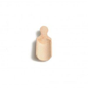 Schepje, beukenhout, 7 cm