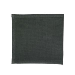 Servet, bio-katoen, donkergroen gemêleerd, 40 x 40 cm