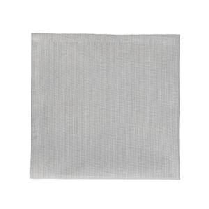 Servet, bio-katoen, grijs gemêleerd, 40 x 40 cm