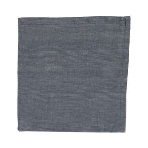 Servet, katoen, antraciet gemêleerd, 40 x 40 cm