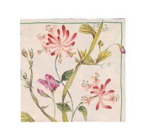Servetten, papier, bloem, 33 x 33 cm