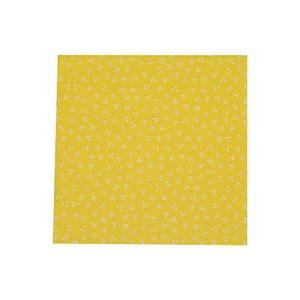 Servetten, papier, geel met witte stippen, 33 x 33 cm