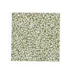 Servetten, papier, groen met takjesmotief, 25 x 25 cm