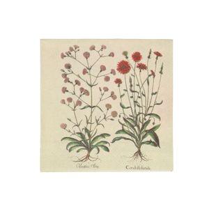Servetten, papier, museumbloem, 25 x 25 cm