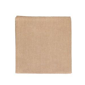 Serviette de table, coton bio, couleur sable , 40 x 40 cm
