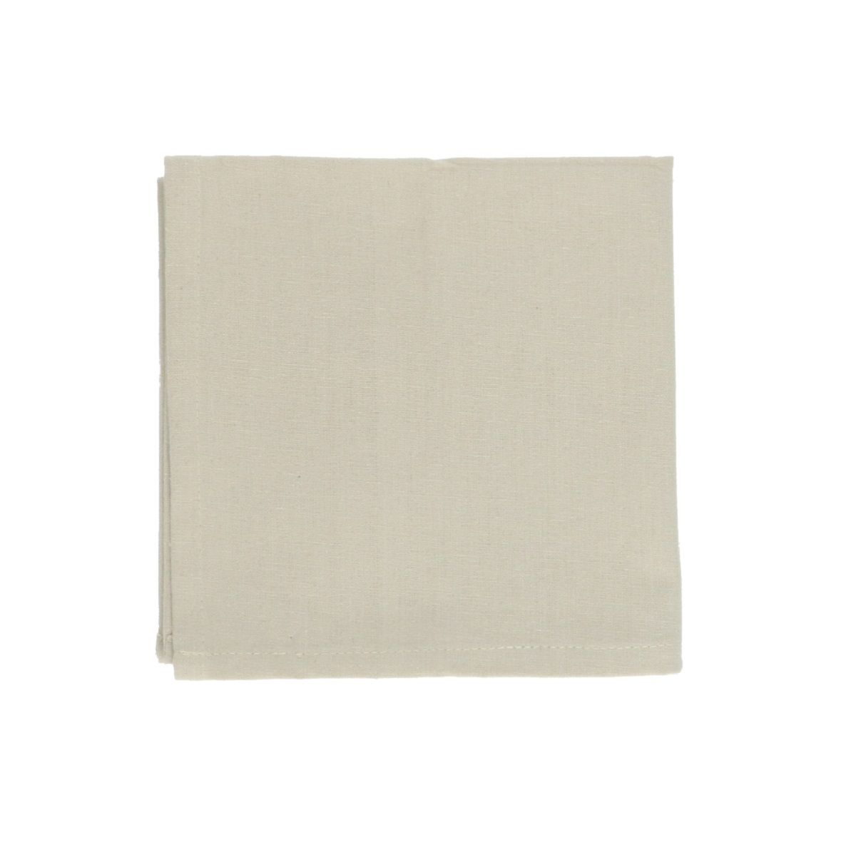 Serviette de table, coton bio, galet