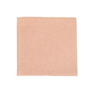Serviette de table, coton bio, sienna chiné, 40 x 40 cm
