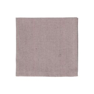 Serviette de table, coton bio, violet