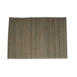Set de table, bambou, gris, 33 x 47 cm