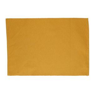 Set de table, coton bio, ocre jaune